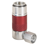 Robinair 18175 - Red High Side 90 Degree Manual Coupler