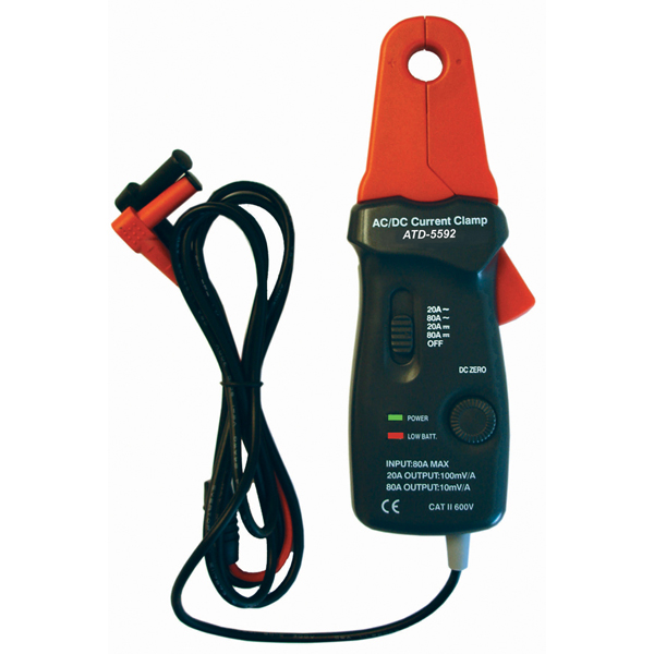 Dc Clamp On Probe : Clamp meter ac dc low current