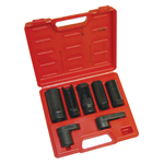 ATD Tools 5663 - 7 pc. Oxygen Sensor and Sending Unit Socket Set