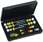 Mastercool 58490 - Universal A/C Valve Core Remover and Installer Kit R-12 / R-134a