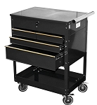 ATD Tools 7046 - Professional 4-Drawer Service Cart, Black