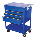 ATD Tools 7047 - Professional 4-Drawer Service Cart, Blue