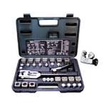 Mastercool 71475PRC - Universal Hydraulic Flaring Tool Kit with Free Tube Cutter