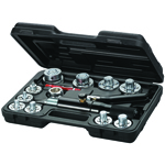 Mastercool 71650 - Tube Expanding Tool Kit (10 Head Kit)
