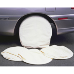 Astro Pneumatic 9004 - 4 Piece Heavy Canvas Wheel Masker Set for 13-15in. Tires