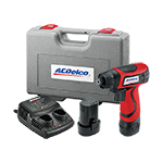 ACDelco ARD847 - 8V Cordless Driver/Drill Kit with Lithium-Ion Battery