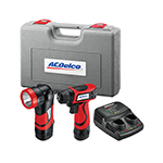 ACDelco ARD847L - 8V 2-in-1 Cordless Driver/Light Combo Kit