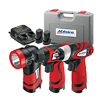 ACDelco ARZ8V14CSP - 8-Volt 3-in-1 Combo Kit