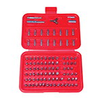Astro Pneumatic 9448 - 100 Pcs. Professional Screwdriver Bit Set