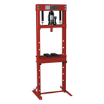ATD Tools 7453 - 12-Ton Hydraulic Shop Press with Bottle Jack