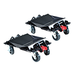 ATD Tools 7469 - Heavy-Duty Convertible Car Dolly Set (One Pair)