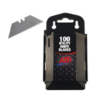 ATD Tools 8813 - 100 pack Utility Knife Blades with Dispenser