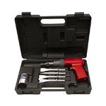 Chicago Pneumatic 7110K - Heavy Duty Air Hammer Kit with Four Chisels