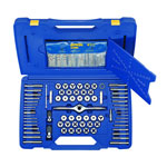 Irwin-Hanson 1813817 - 116 Piece Tap/Die/Drill Deluxe Set with PTS Handle