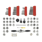 GearWrench 3887 - 75 Piece Tap and Die Set SAE and Metric