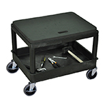 Luxor MS21-B - Black Mobile Mechanics Seat