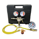 Mastercool 53010-AUT - Nitrogen Pressure Testing Regulator Kit (R12 & R134A)