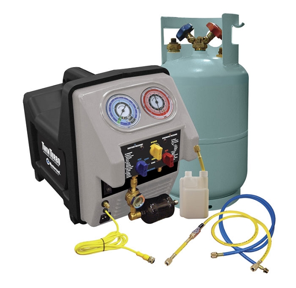 Mastercool Twin Turbo Refrigerant Recovery Unit at