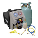 Mastercool 69360 - Twin Turbo Refrigerant Recovery System With Oil Separation Module