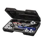 Mastercool 71600-A - Tube Swaging & Expanding Tool Kit (7 Head Kit)