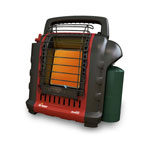 "Mr. Heater MH9BX - Portable ""Buddy"" Indoor-Safe Propane Heater 4,000 and 9,000 BTU/HR"