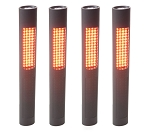 NightStick NSP-1168 - 4-Pack Safety/Flash Light with Amber LEDs