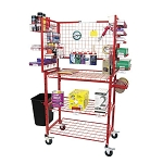 Innovative Tools I-MCDC - Mobile Detailer Materials Supply Cart