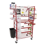 Innovative Tools I-MCWM - Mobile Painters Prep Supply Cart with Masker
