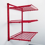 Innovative Tools SSPC-W - SuperStorage 3-Shelf Adjustable Wall Storage Rack