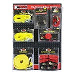K Tool International 0822 - Tie Downs & Tow Straps Display Board