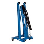 K Tool International 63421 - 1.5 Ton Foldable Engine Crane With Fast Rise KTool XD