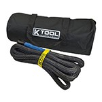 K Tool International 73822 - 20-ft Recovery Tow Rope - 7/8
