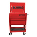 K Tool International 75146 - 4-Drawer Locking Service Tool Cart
