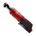 "Milwaukee 2457-20 - M12 3/8"" Drive Cordless Ratchet (Bare Tool)"