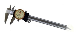 "Chicago Brand 50004N - 6"" Extra Smooth Dial Caliper"