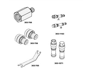676912 Ford Oil Pressure Sensor Socket additionally I 24076626 Gb Diesel Injector Fuel Return Hose Kit For 1987 1993 Ford Powerstroke 6 9l together with 6 0 Powerstroke Wiring Harness also I 12071142 Warren Diesel Fuel Injectors Ford 2003 10 6 0l Power Stroke Set Of 8 Stock furthermore MTY MVM8905. on ford 6 0 injector tools