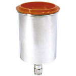 Astro Pneumatic 354006 - 600cc (1pt. 4oz.) Aluminum Cup Assembly
