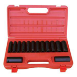 ATD Tools 4301 - 14 pc. 6-Point Metric Deep Impact Socket Set
