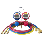 Robinair 43186 - 2-Way Manifold with Digital Gauges and 60