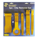 Astro Pneumatic 4505 - 5pc Fastener and Molding Remover Set