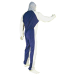 Astro Pneumatic 4561 - Large Reusable Coverall with Velcro Wrists and Ankles