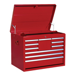 ATD Tools 7124 - 26 Inch- 10-Drawer Heavy Duty Mechanics Top Chest