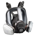 3M Automotive 7162 - Full-Facepiece Spray Paint Respirator - Organic Vapor - Medium