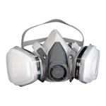 3M Automotive 7179- 3M Dual Cartridge Respirator Packout, Organic Vapor/P95, Large