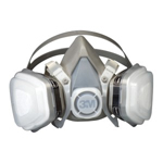 3M Automotive 7191- 3M Dual Cartridge Respirator Assembly, Organic Vapor/P95, Small