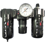 ATD Tools 7872 - Poly Filter, Regulator, Lubricator and Gauge Modular Unit with Manual Drain