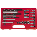 Astro Pneumatic 9447 - 26-PC Screw Extractor/Drill & Guide Set
