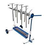 Astro Pneumatic 7300 - Universal Rotating Super Work Stand for Paint and Body