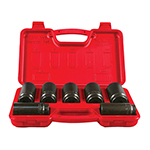 Astro Pneumatic 7863 - 7 Piece Axle Nut Socket Set
