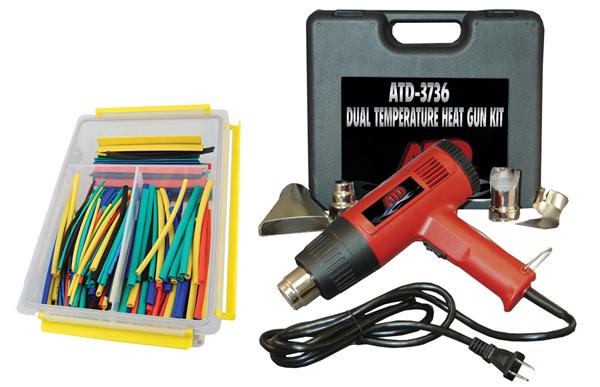 ATD Tools 3736 Dual Temperature Heat Gun Kit